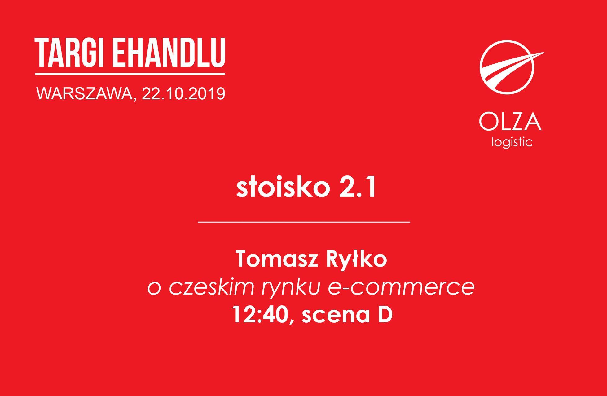 22.10 - widzimy się na targach eHandlu w Warszawie!